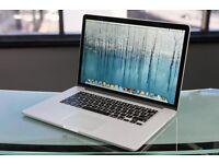 "Retina MacBook Pro 15"" 2015 256GB 16GB RAM i7 Intel Processor"