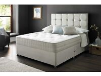 BRAND NEW - DOUBLE BEDS - FACTORY MADE TO ORDER - ONLINE PRICES DELIVERED- KING SIZE DEALS - TV BEDS
