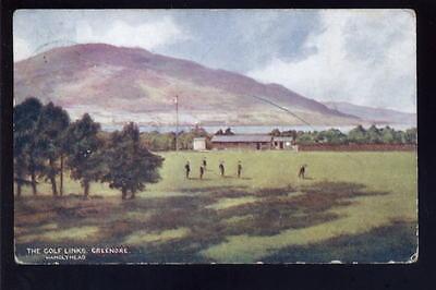Ireland Co Louth GREENORE Golf Links 1907 PPC