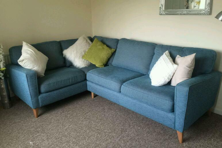 Harveys Cargo Opal Right Hand Facing Corner Sofa In