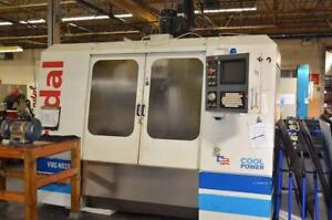 Fadal CNC Vertical Machining Center Model 906 VMC 4020 HT Year: 2000 With 4th Axis Table