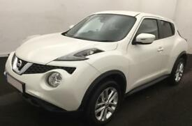 NISSAN JUKE WHITE HATCHBACK 1.2 1.4 DIG-T ACENTA PREMIUM FROM £41 PER WEEK!