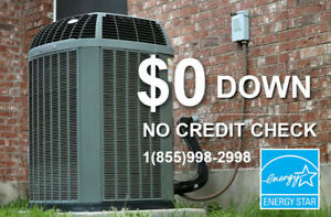 HIGH EFFICIENCY FURNACE - AIR CONDITIONER - $0 - FREE INSTALL
