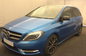 BLUE MERCEDES-BENZ B220 2.1 CDI B200 B180 SPORT AMG LINE SE FROM £72 PER WEEK!