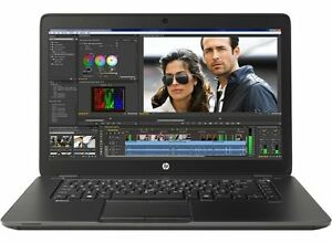 HP ZBOOK 15 Laptop - i7 2.4GHz, 8gb RAM, 2gb VRAM, 500gb SSD