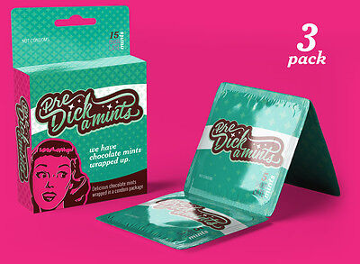 Predickamints Pack (3 Pack) for bridal and bachelorette party, gag gifts, party (Bachelorette Gag Gifts)