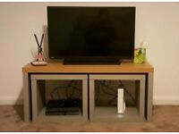 Grey TV stand/coffee table