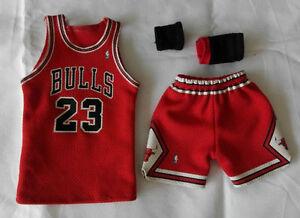 Custom-1-6-CHICAGO-BULLS-MICHAEL-JORDAN-jersey-23-45-NBA-TOYs-away-red