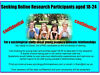 Seeking men & women aged 18-24: For Online study about young people's relationships (PhD research) Salford, Manchester