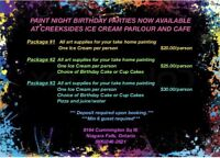 Book now for your Birthday party