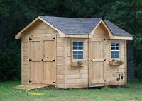 WHITE PINE BUNKIES AND SHEDS