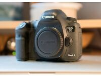 Canon 5D mkiii (4 batteries, battery grip, original box, manual and charger) low shutter
