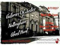 Galleries of justice ghost hunt!