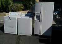SCRAP METAL & APPLIANCES FREE SAME DAY FREE PICKUP 613-394-3051