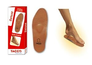 TACCO-694-Deluxe-Orthotic-Arch-Support-Leather-Shoe-Insoles-Inserts