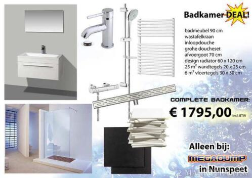 Tegels Badkamer Nunspeet : ≥ goedkope keramische tegels plavuizen voor keuken & badkamer