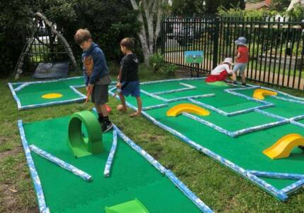 Portable Mini Golf Business for sale