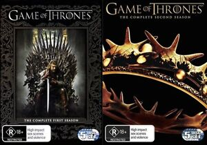 GAME OF THRONES TV Series: SEASONS 1+2 = NEW R4 DVD