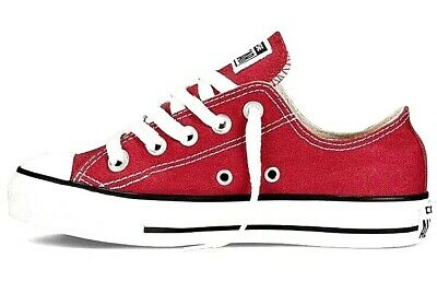 s Converse Chuck Taylor All Star Ox, Trainers Red Size UK 1 (Chuck Taylor Boys)