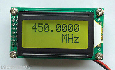 1mhz 1.1ghz Frequency Counter Tester Measurement For Ham Radio Plj-0802-e New