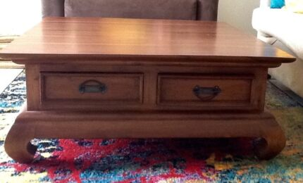 Coffee Table Opium Solid Teak Price Slashed