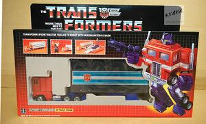 Transformers Reissue G1 BLUE Version『OPTIMUS PRIME』 MISB
