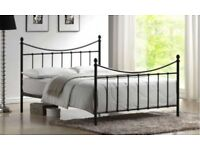 Small Double Metal Bed Frame WORTH £399.99, UNOPENED IN BOX, NEVER USED