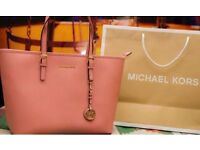 Michael Kors Original Leather Tote Bag for Woman