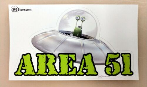 Area 51 Storm alien sticker decal