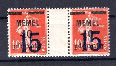 MEMEL 34ZW ZWISCHENSTEG POSTFRISCH B1703