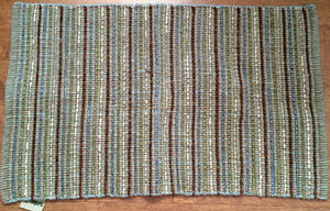 2 Identical Pier One Cotton Rugs--$20.00 each or 2 for $30.00