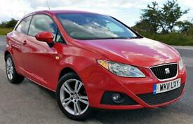 2011 SEAT Ibiza 1.4 Chill 3dr HATCHBACK Petrol Manual