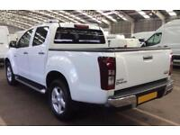 2016 WHITE ISUZU D MAX 2.5 TD UTAH HUNTSMAN 4X4 CREW CAB CAR FINANCE FR 71 PW