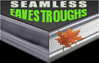 Eavestrough Installation, Soffits, Fascia, Siding, Windows