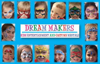 FACE PAINTING, PRINCESSES, SUPERHEROES AND CHARACTERS FOR EVENTS