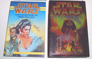 Star Wars Hardcover Books Set of 2 with Dust Covers London Ontario image 1