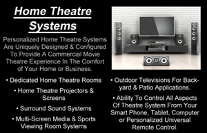 Home Theatre System Installation Services