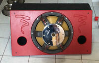 "Focal 46KX4 18"" Sub in Custom Box"