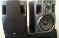JVC Speakers 160Watts total ***** Impecable