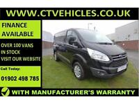 2016 16 plate Ford Transit Custom 2.2TDCi 125PS 290 L1H1 Trend Black cruise