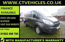 2016 16 Ford Transit Custom 2.2TDCi 125PS 290 L1H1 Trend cruise control