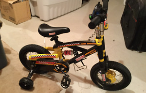 Black and Yellow kids Bicycle