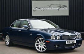 Jaguar XJ 2.7 TDVI Sovereign Diesel * Indigo Blue + Barley +High Spec+Facelift