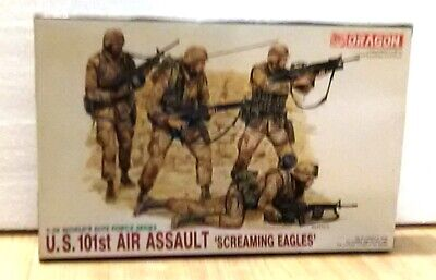 DRAGON 3011 US 101 st Air Assault Screaming Eagle 1/35