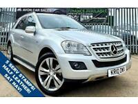 2010 Mercedes-Benz M-CLASS 3.0 ML350 CDI BLUEEFFICIENCY SPORT 5d 231 BHP Estate