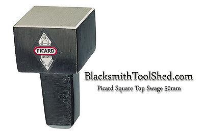 NEW Picard bottom hammer, anvil hardy, flatter square hardie  Blacksmith forging