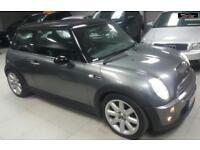 2002 MINI HATCH COOPER S Grey Manual Petrol