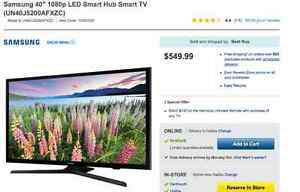 Brand New Samsung Smart TV 40''