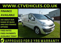 2012 62 Vauxhall Vivaro 2.0CDTi 115ps Sportive 2900 LWB ALLOYS AIR CONDITIONING