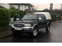 Ford Ranger double cab 4x4 truck diesel off roading like Nissan Navara L200 Toyota hilux